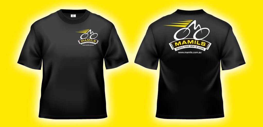 New MAMILS T shirts